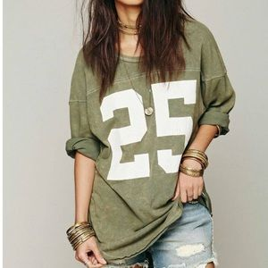 + FREE PEOPLE +  We The Free Touchdown Tee